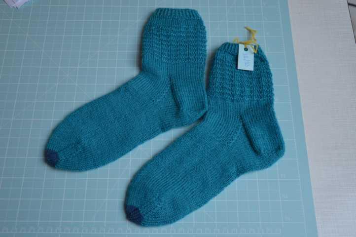 Socken mit Waffelmuster Gr 32-33