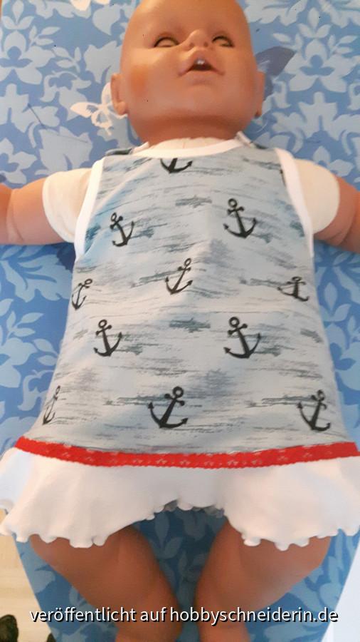 Baby-Sommerkleidchen mit Volant