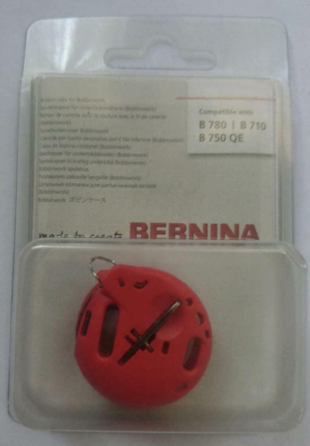 Bernina bobbinwork rote Spulenkapsel