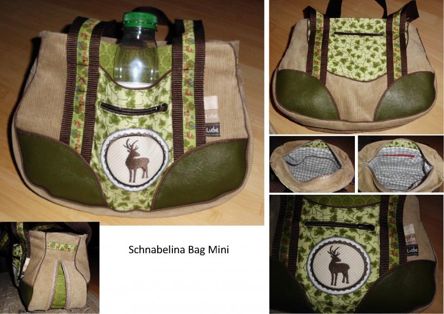 """Schnabelina Bag Mini, mit Zip-It, für """"besondere"""" Anlässe."""