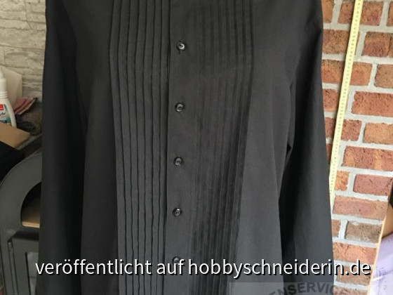 Herrenhemd Burda 7767 , Modell A in Gr. 60