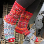 Zickzack-Socken