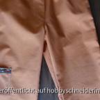 """Eine """"Baumkletterhose"""" für den Sohnemann - der BW-Stoff kann was ab und hat sowieso ein paar Farbabweichungen. Die nächste nähe ich als Hüfthose, denn genau da trägt er den Gummibund *g*"""