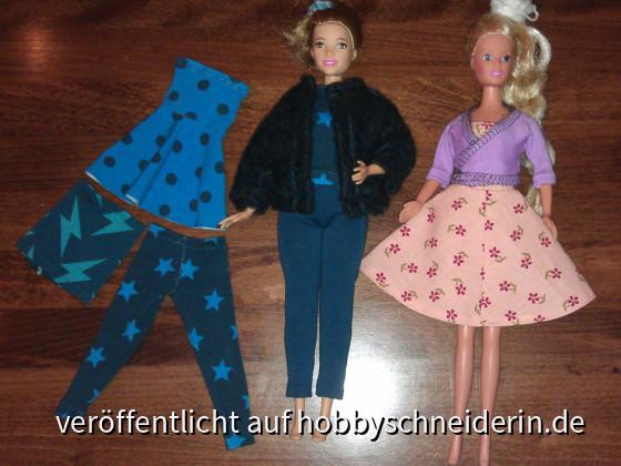Barbie Kleider selber nähen