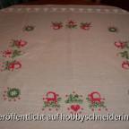 Weihnachts-Tischdecke