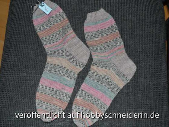 GumGum Socken mit beige