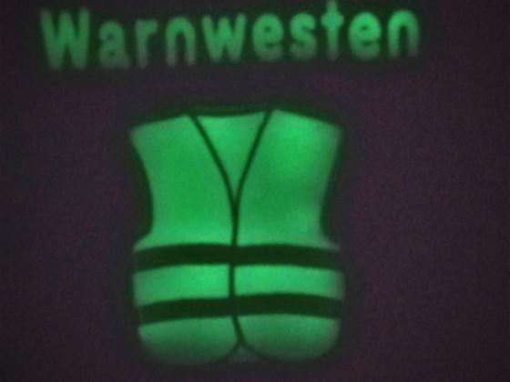 Warnwesten-Tasche für das Auto