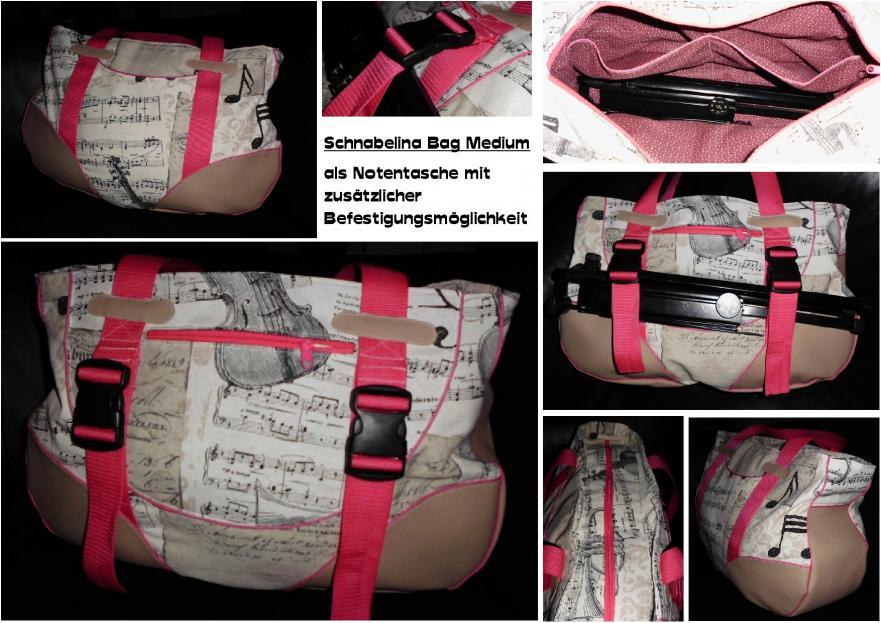 Schnabelina Bag Medium Notentasche