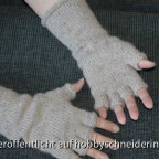 Stulpen mit halben Fingern