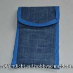 Einfache Hülle fürs Smartphone in Jeansoptik