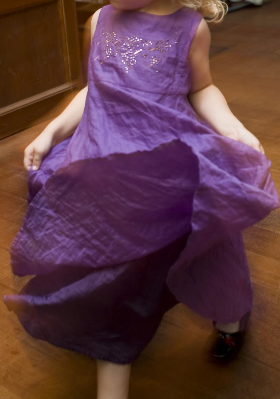 Mädchen Festkleid