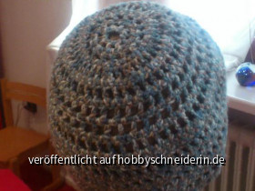 Mütze, von hinten