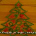 Geklöppelter Weihnachtsbaum