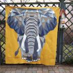 Elefant im Garten