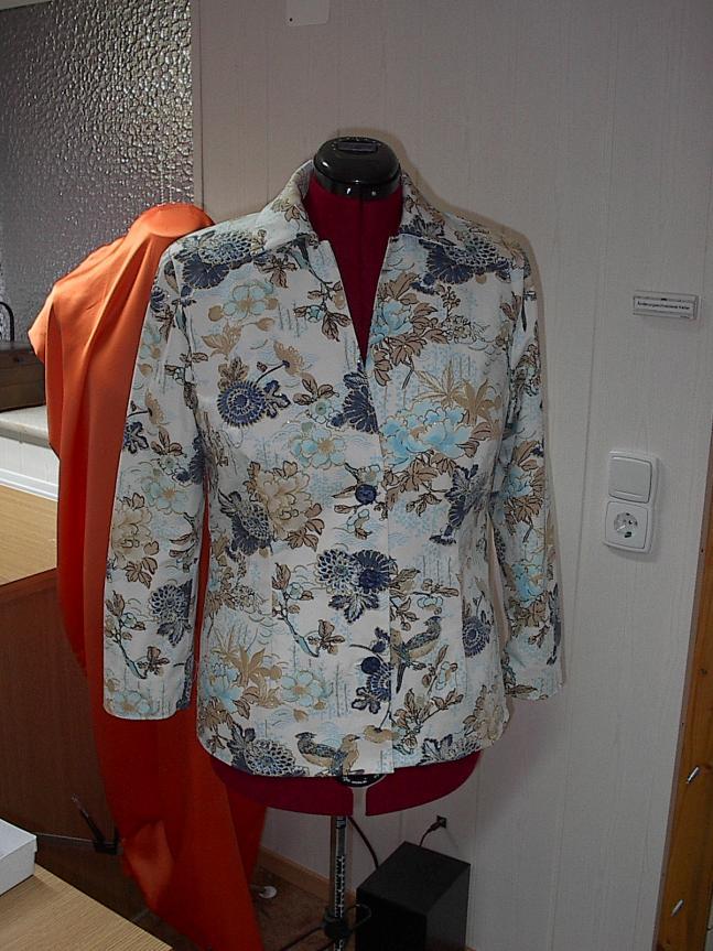 Jacke Blau Weiß 2012.05.05