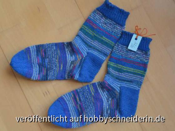 Blaue GumGum Socken