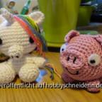 Einhorn und Schwein