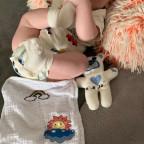 Baby Spucktuch mit Teddy