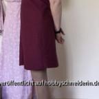 E11 - Schwingendes Leinenkleid seite - Ceri