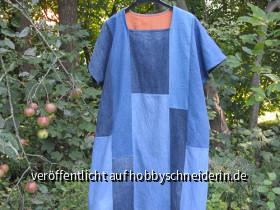 Jeans - Upcycling - Kleid