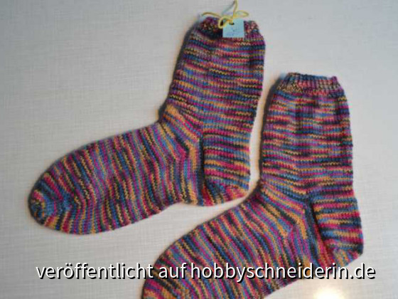 Bunte Kindersocken Gr 32-33