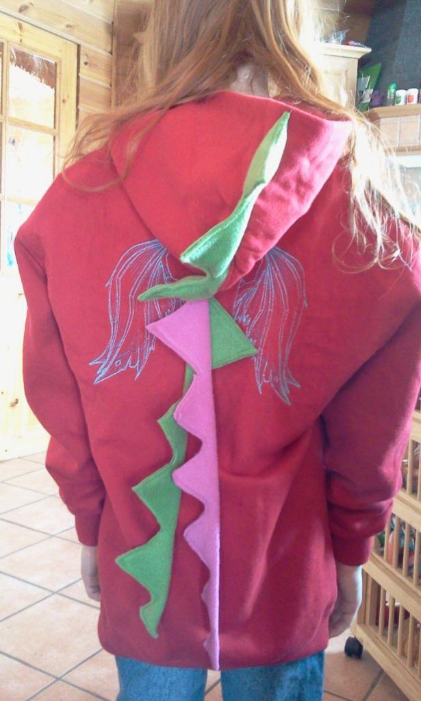 Einfarbige Pullover sind wie leere Leinwände und wollen bemalt werden.
