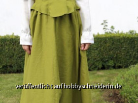 Unterkleid: Kiara von FarbenmixOberkleid: eigener Entwurf