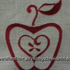 Herz im Apfel