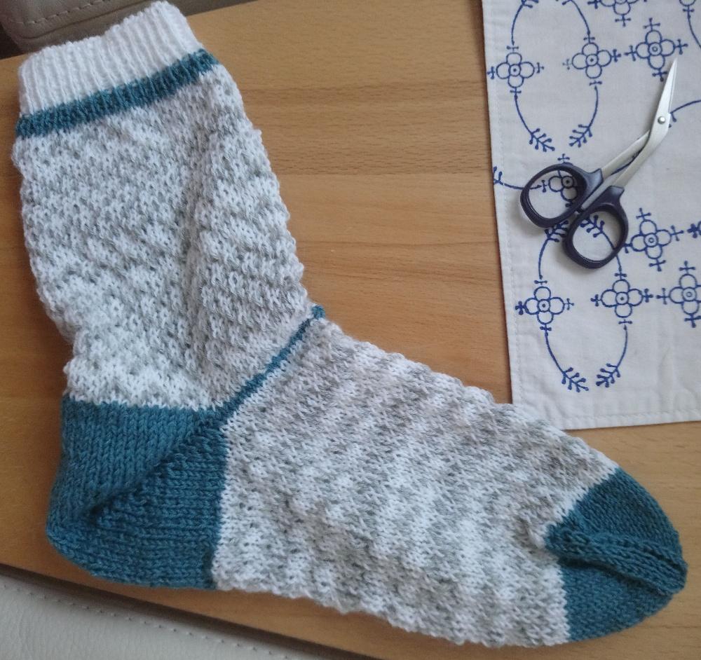 Erste Socke von 04/2020