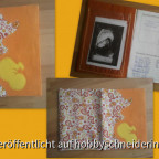 Mutterpasshülle nach dem Freebie von Ubidu - ich durfte Probenähen :)