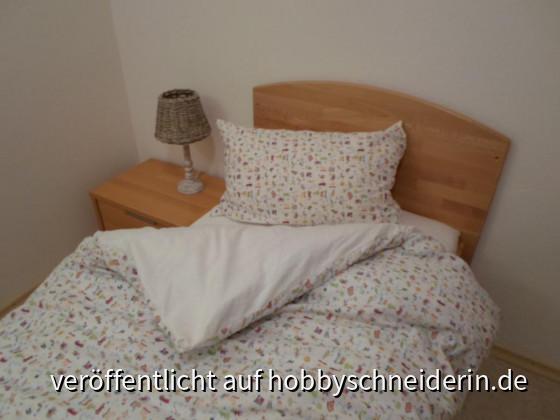 Bettbezug 100x135 Kopfkissenbezug 40x60
