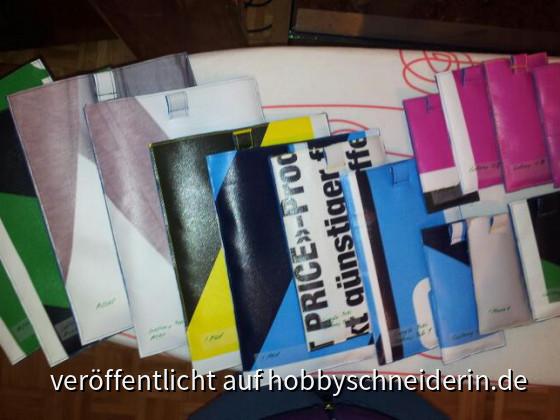Handy und Tablet PC-Taschen aus Reklameplachen.