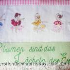 Blumenmädchen Wandbehang