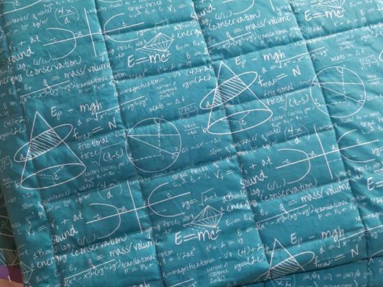 Rückseite Decke für Enkel