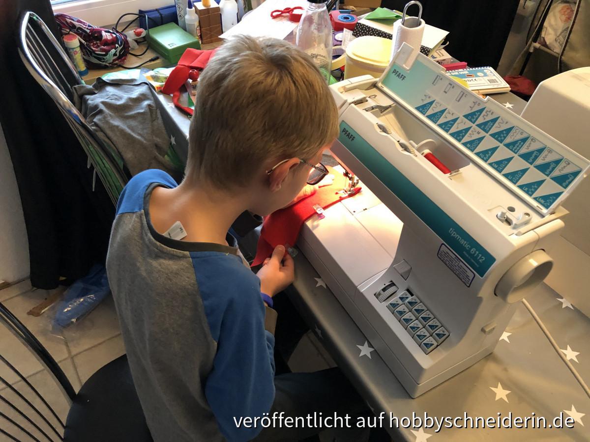 Sohneman mag die Maschine auch!