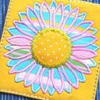 Kleine Sonnenblume mal in bunt!