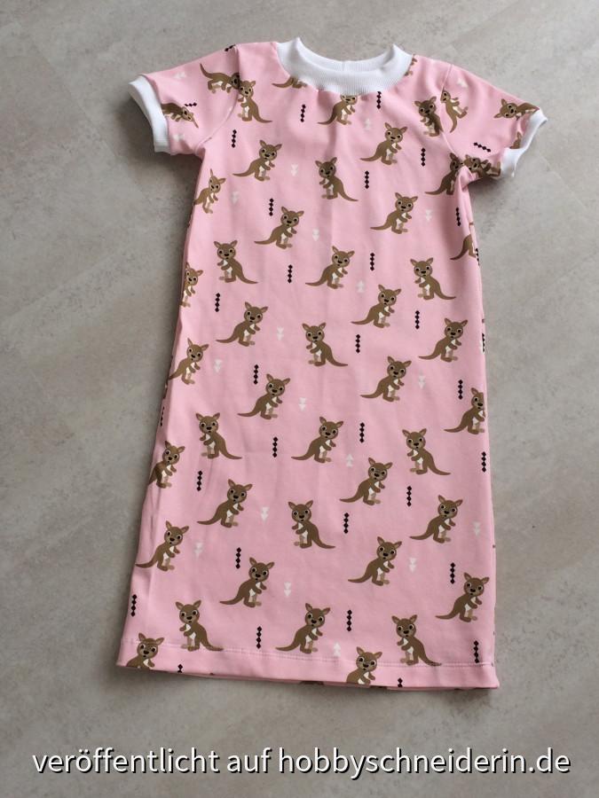 Nachthemd Känguru für die Murmel