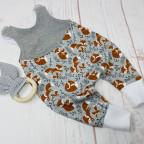 Babystrampler Fuchs Größe 56