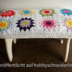 Granny Square Hocker