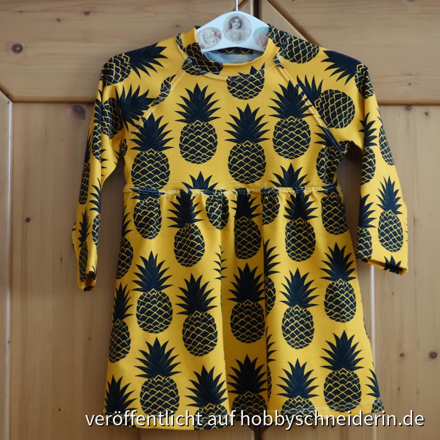 """Kleid """"Tropical"""" Gr. 98  aus ottobre 1/2016"""