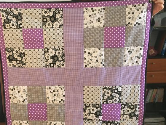 Mein erstes Quilt - eine Krabbeldecke für die Enkelin