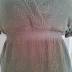 Damenkleid (Schnitt Verano aus dem LilleMag No 5) aus Musselin und Modal