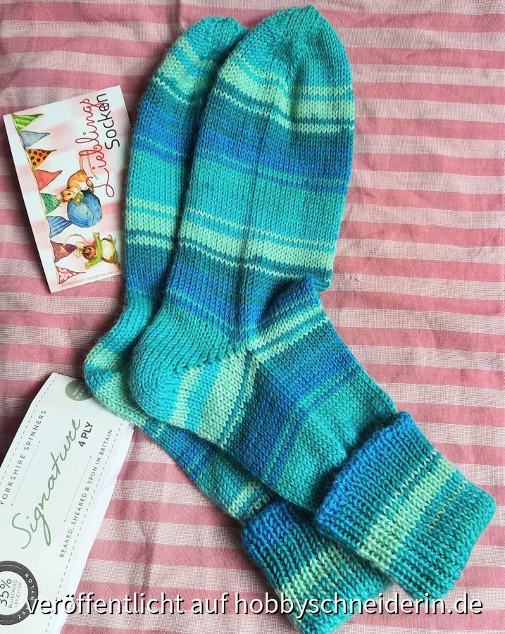 Socken in Lieblingsfarben
