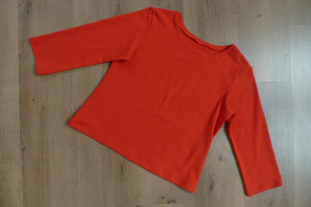 Classic or Modern Jerseyshirt rot Gr. 40-42