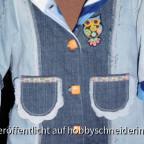 Jeansmantel von Vorne.