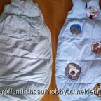 Kinderschlafsack - repariert und aufgehübscht