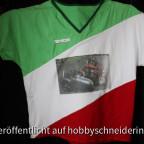 Italoshirt, eigens angefertigt um das Mäcbär-Foto zu platzieren.