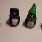 Sonstige Bastelarbeit - Die lieben sieben Pinguine