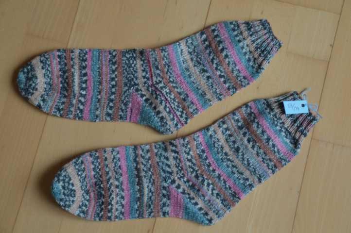 Gemusterte Stino Socken