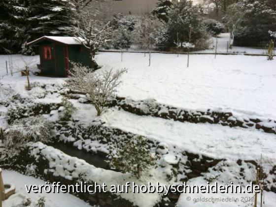 Schnee am 1. Advent 2012